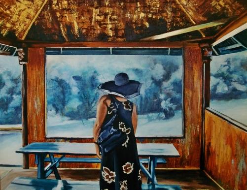 24x30 Acrylic on Canvas