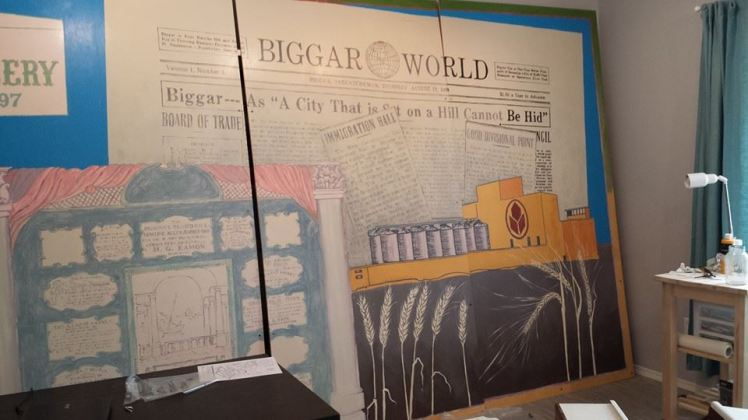 Biggar Museum & Gallery Mural Project