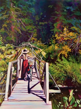 """""""Journey's End""""18x24 acrylic on exhibition canvas $1200"""