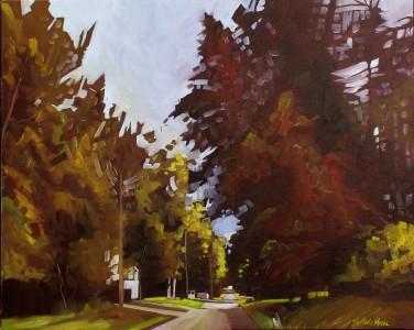 """A Feeling"" 24x30 oil on exhibition canvas painted in 2018. $1500 Available through Boheme Gallery, Saskatoon"