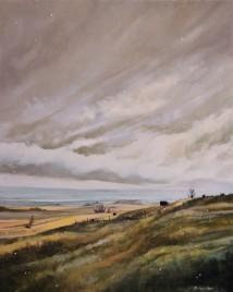"""First Snow"" 24x30 oil on exhibition canvas $1500 Available through Boheme Gallery, Saskatoon"