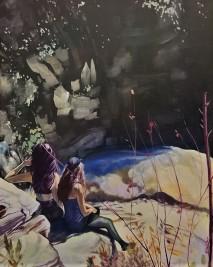 """Mill Creek"" 24x30 oil on exhibition canvas $1500 available through Boheme Gallery, Saskatoon"