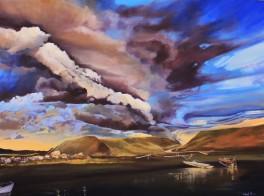 """Tornado Warning"" 36x48 oil on exhibition canvas $3250"